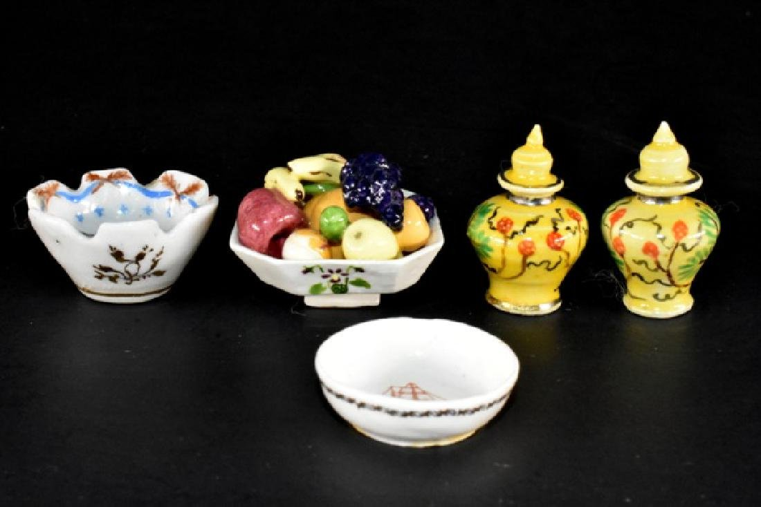 Yngling & Andrews Dollhouse China Miniatures