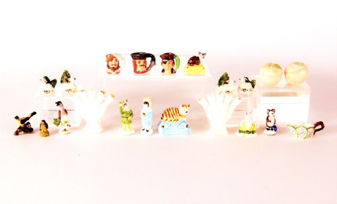 Ron Benson & Pongrasic Dollhouse China Miniatures