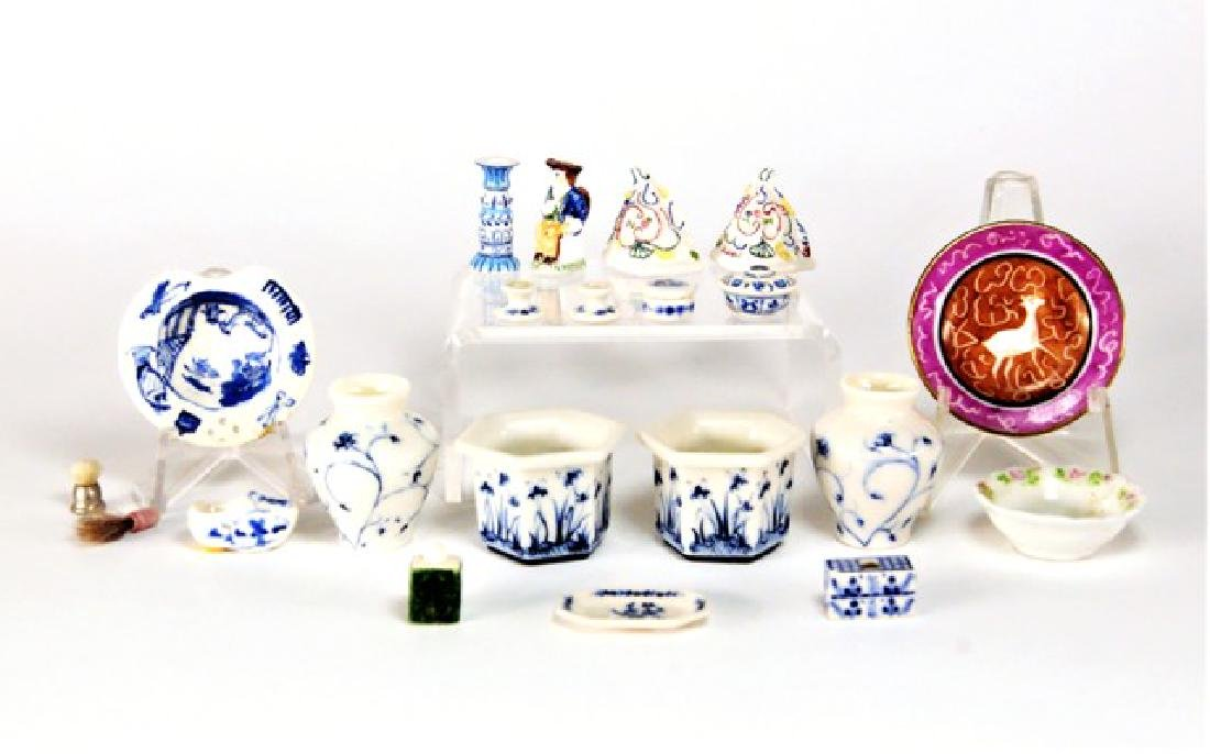 Collins, Niswanger and Others Dollhouse China