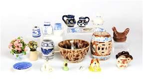Large Group of Dollhouse Miniature China