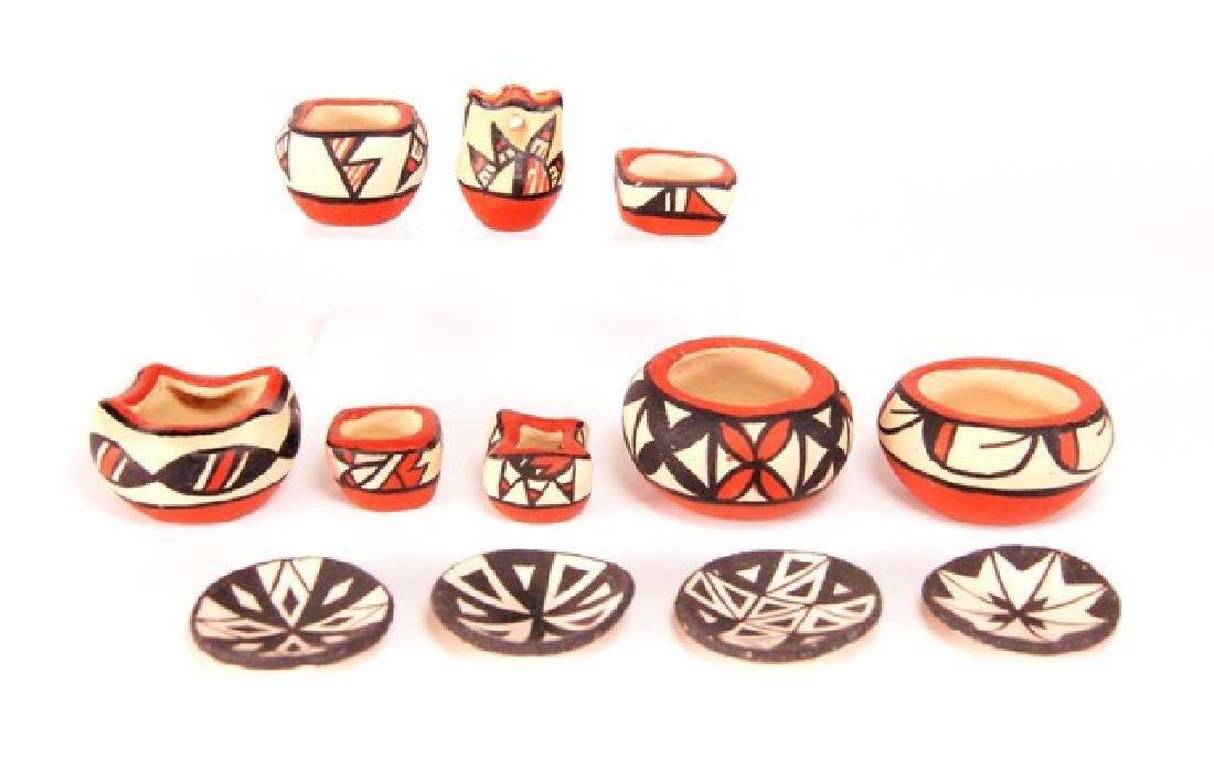 Pueblo Pottery Dollhouse Miniatures