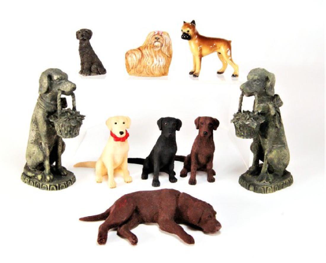 Mary Hoot Fabric Dog & Others Dollhouse Miniatures
