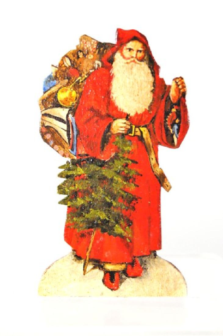 George Schlosser Santa Painting Dollhouse Miniature
