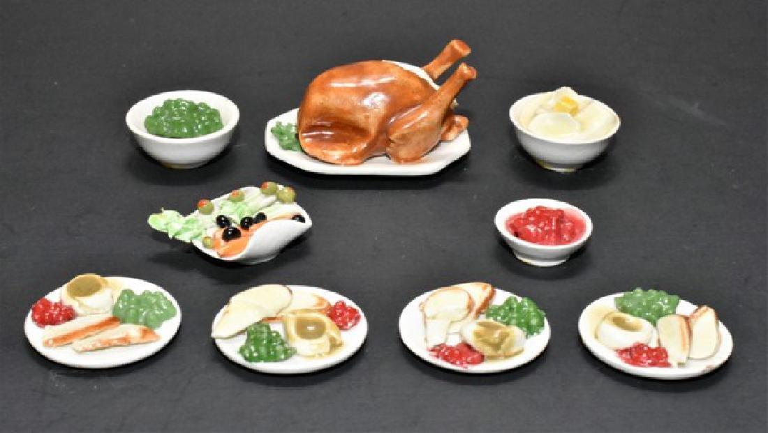 Deborah McKnight Miniature Thanksgiving Dinner for