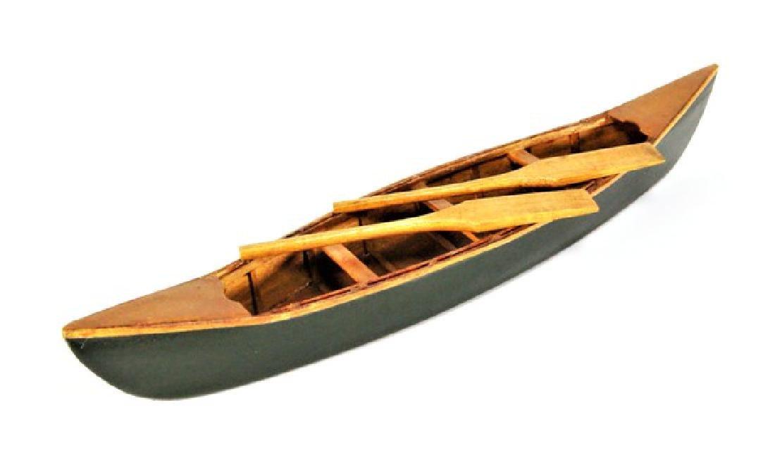 Miniature Telescope & Canoe For Dollhouse - 2