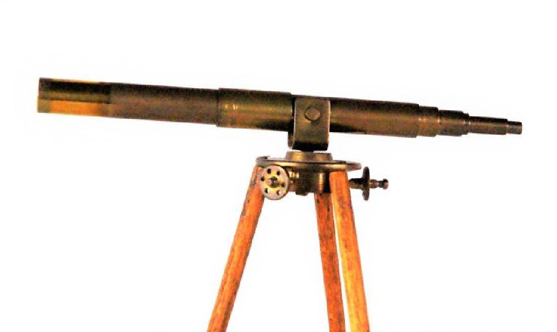 Miniature Telescope & Canoe For Dollhouse - 3