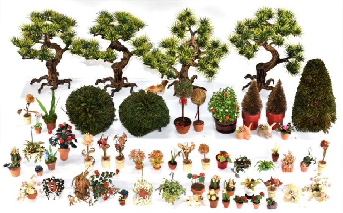 Dollhouse Plants, Bushes & Trees Miniatures