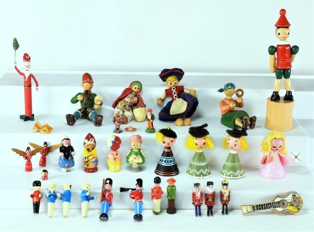 Dollhouse Wood Toys Miniatures