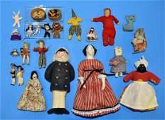 Dollhouse Soft Figures  Animals Miniatures