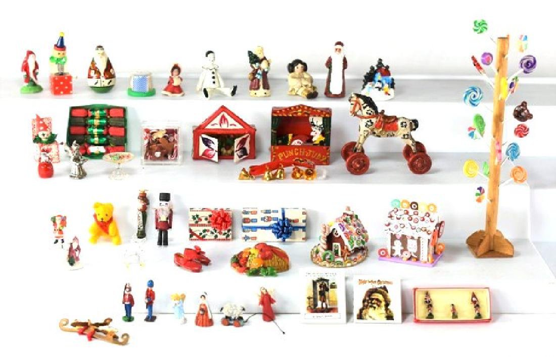 Dollhouse Christmas Decorations Miniatures