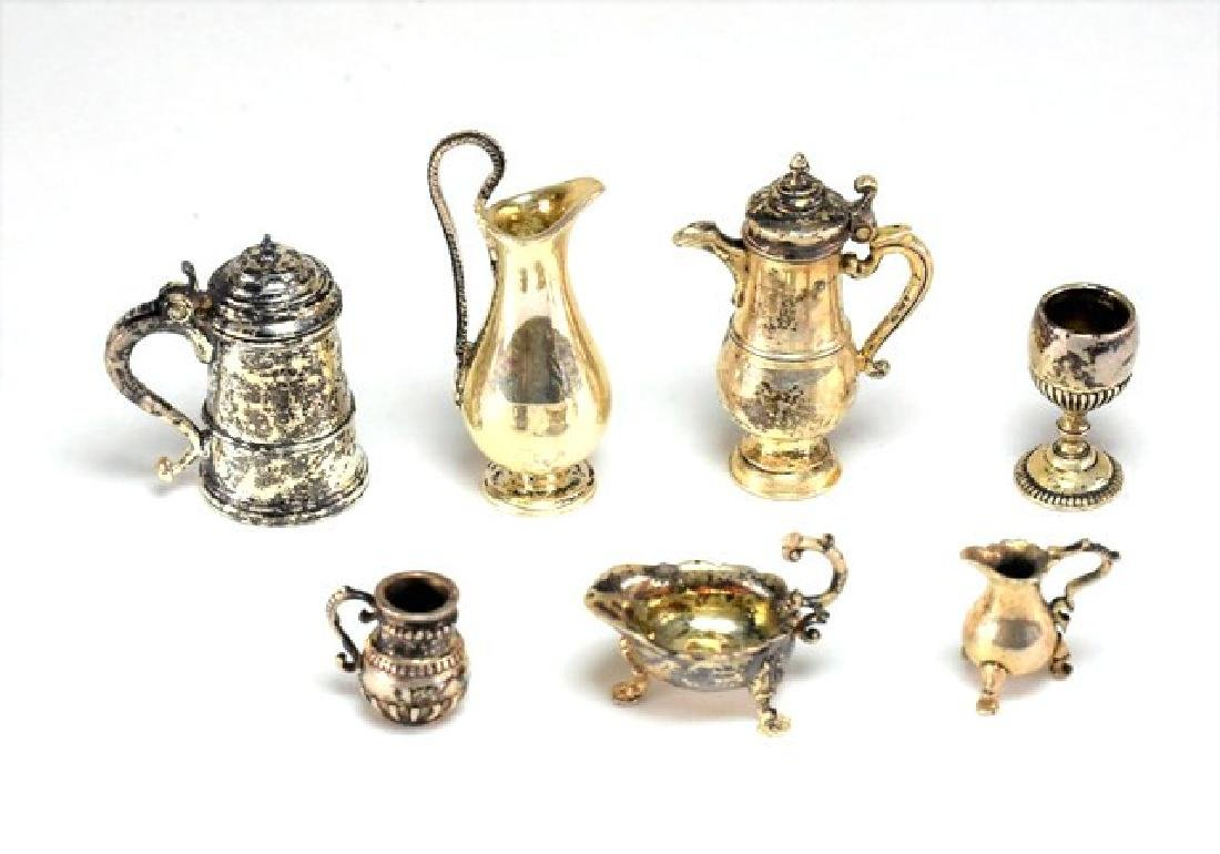Pete Acquisto Hollow Ware Sterling Dollhouse Miniatures