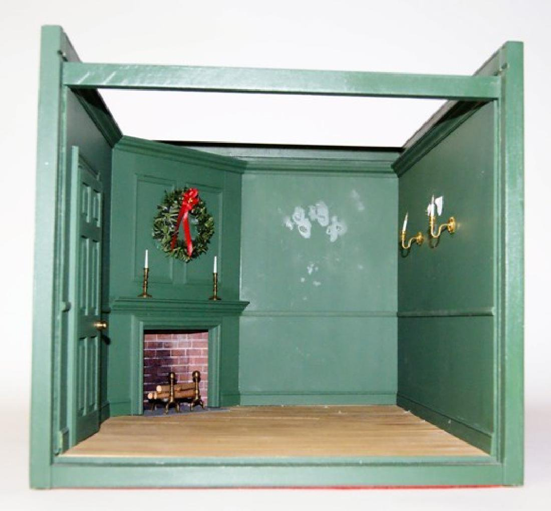 Three Small Dollhouse Room Boxes - 2