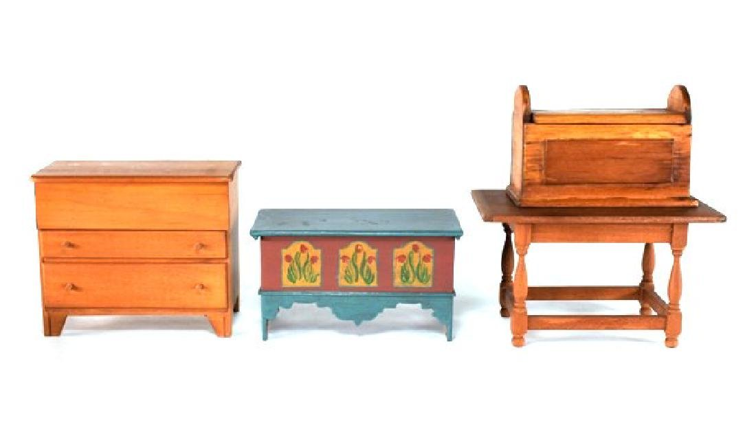 Country Artisan Furniture for Dollhouse Miniatures