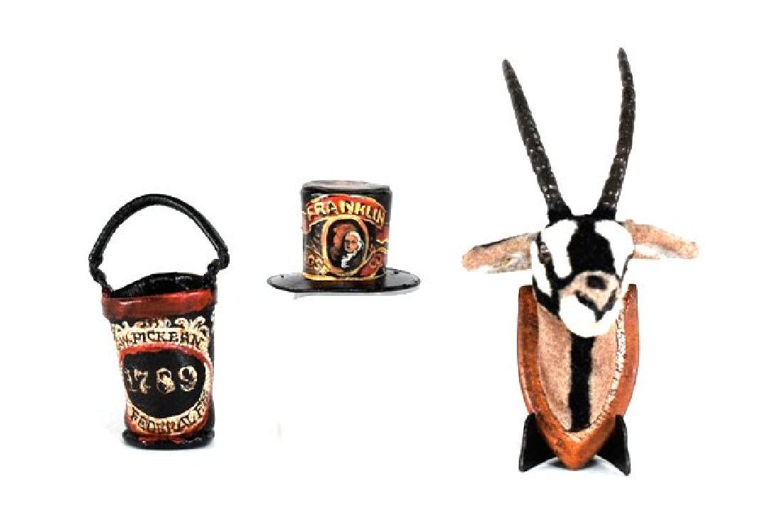 Coursein Antelope Mount & Folk Art for Dollhouse