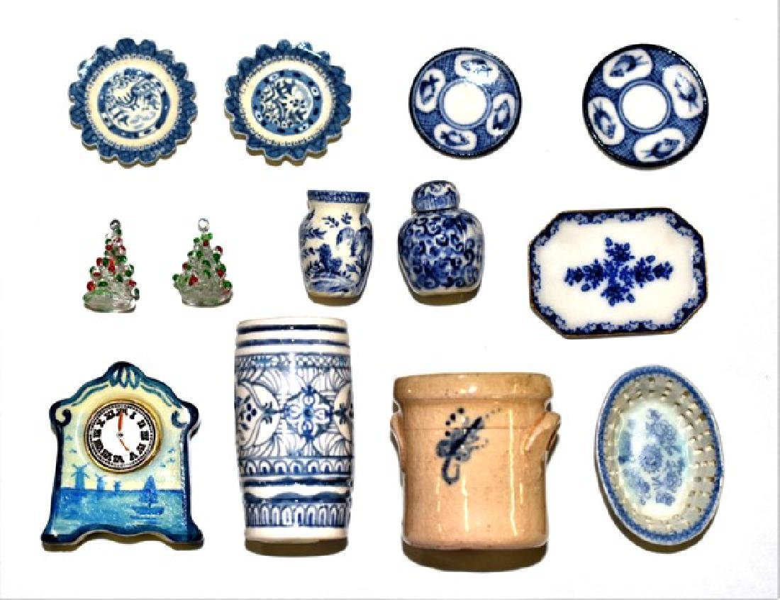 Artisan China & Pottery for Dollhouse Miniatures