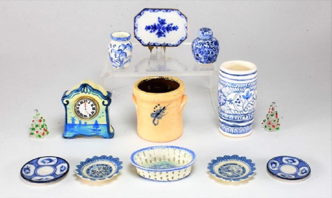 Artisan China & Pottery for Dollhouse Miniatures - 2
