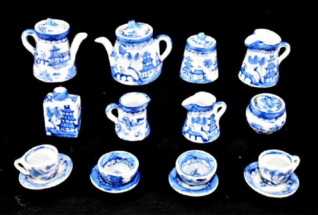 Deborah McKnight Tea Sets for Dollhouse Miniatures