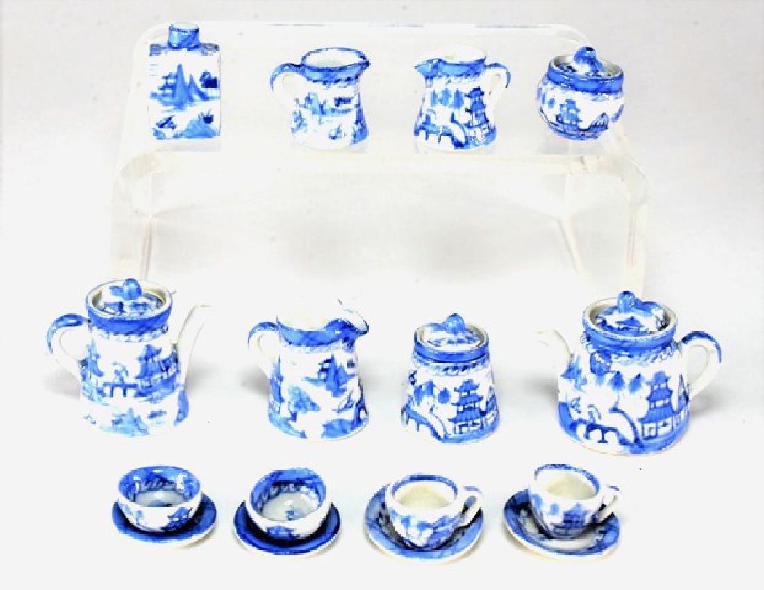 Deborah McKnight Tea Sets for Dollhouse Miniatures - 2