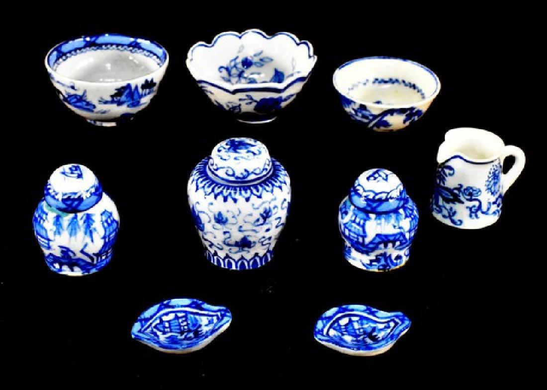 Deborah McKnight Blue & White Pottery for Dollhouse