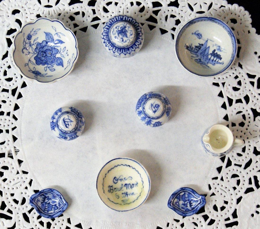 Deborah McKnight Blue & White Pottery for Dollhouse - 3