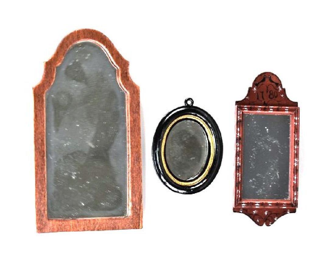 Artisan Dollhouse Mirrors Miniatures