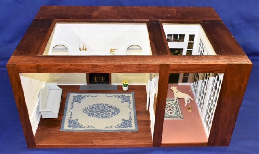 Federal Living Room Box Dollhouse