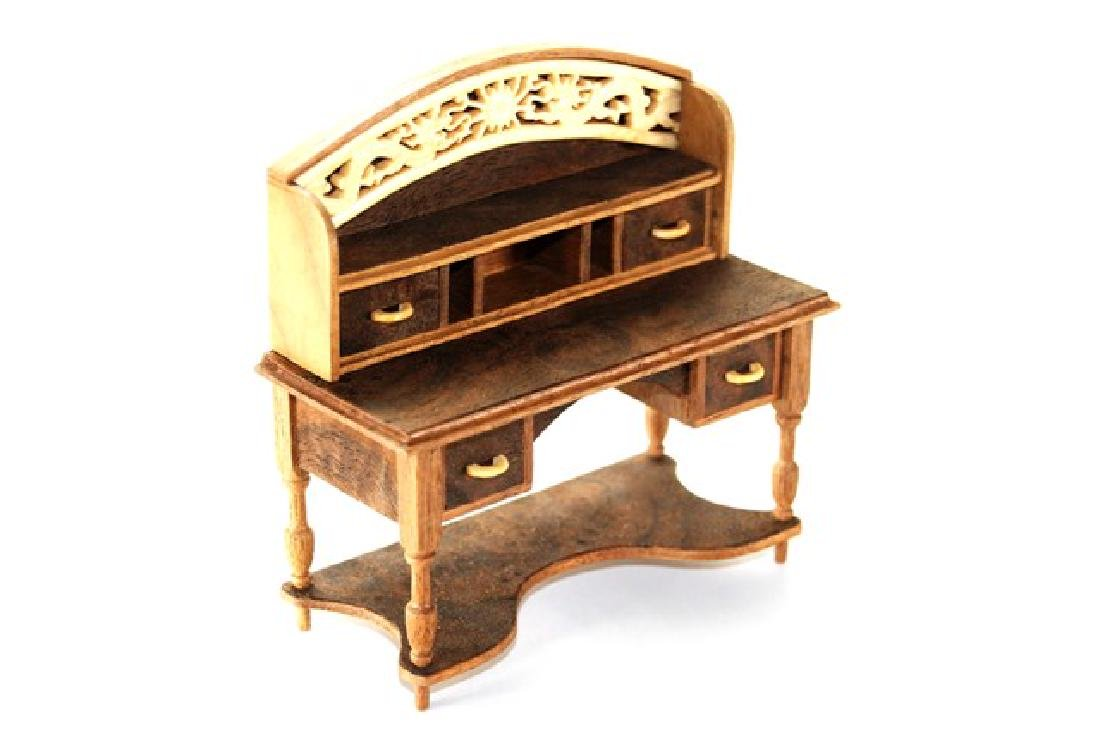 Petite Antiquary Lady's Writing Desk for Dollhouse