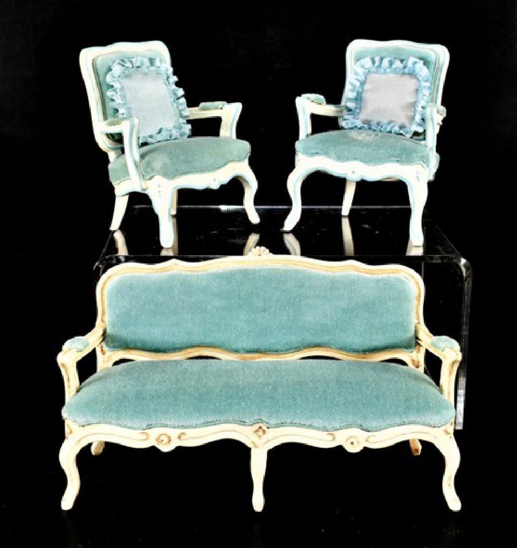 Leonetta Sofa & Chairs for Dollhouse