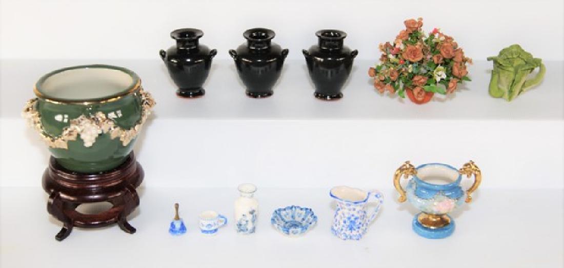 Stapleton & Curran Artisan Pottery for Dollhouse