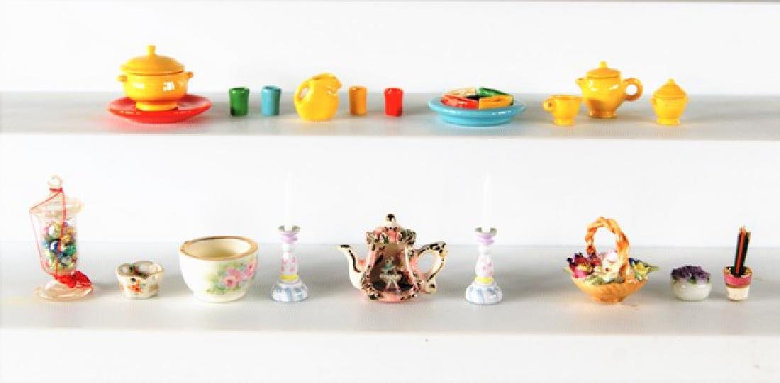 Secord, Bennets & Others Dollhouse China Miniatures