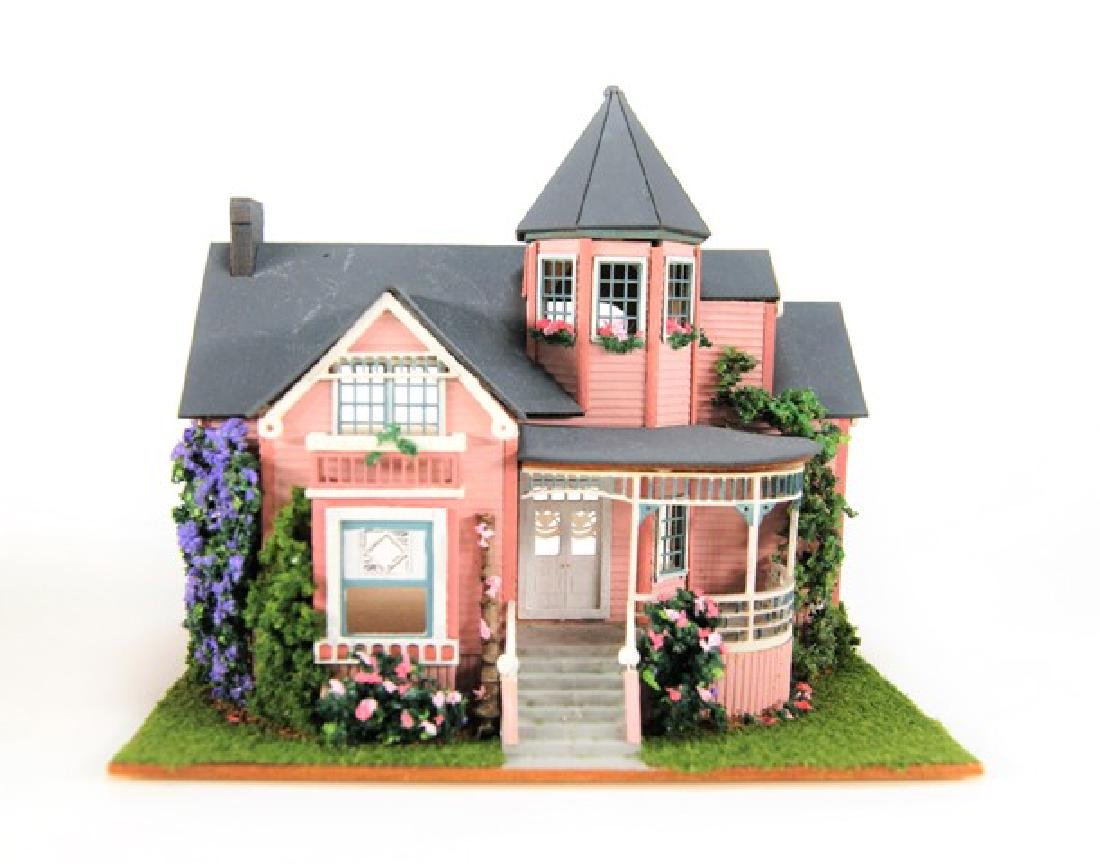 Small Toy Houses for Dollhouse Display Miniatures - 2