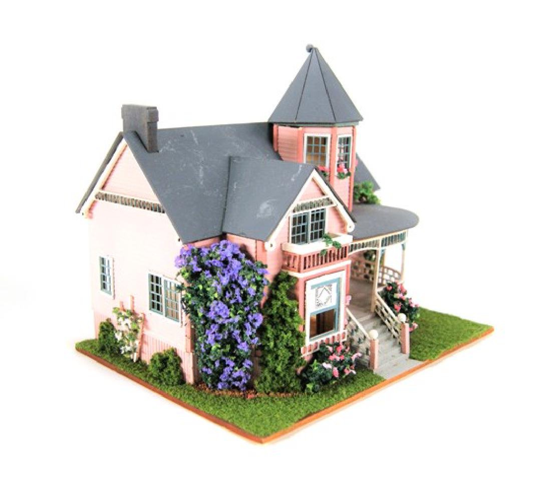 Small Toy Houses for Dollhouse Display Miniatures - 3