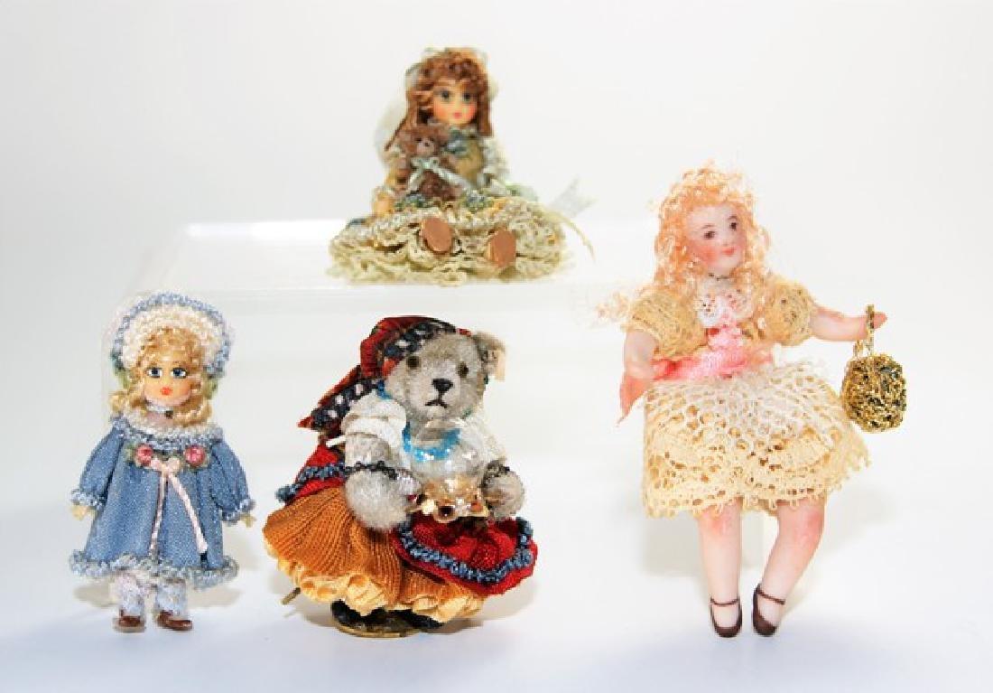 Linda Steir Dollhouse Miniature Dolls