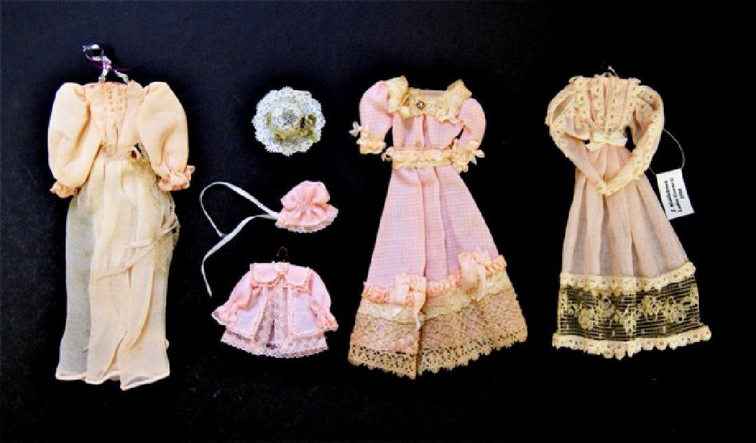 Janet Middlebrook Dollhouse Doll Dresses Miniatures
