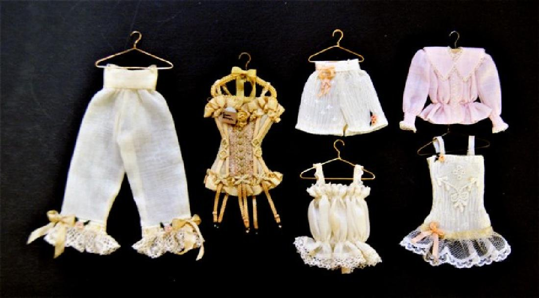 Susan Harmon Dollhouse Doll Undergarments & Child's