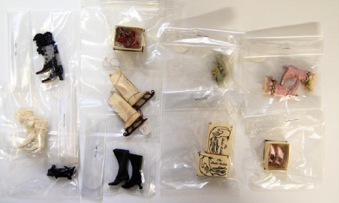 Doll's Cobbler Dollhouse Doll Shoes Miniatures