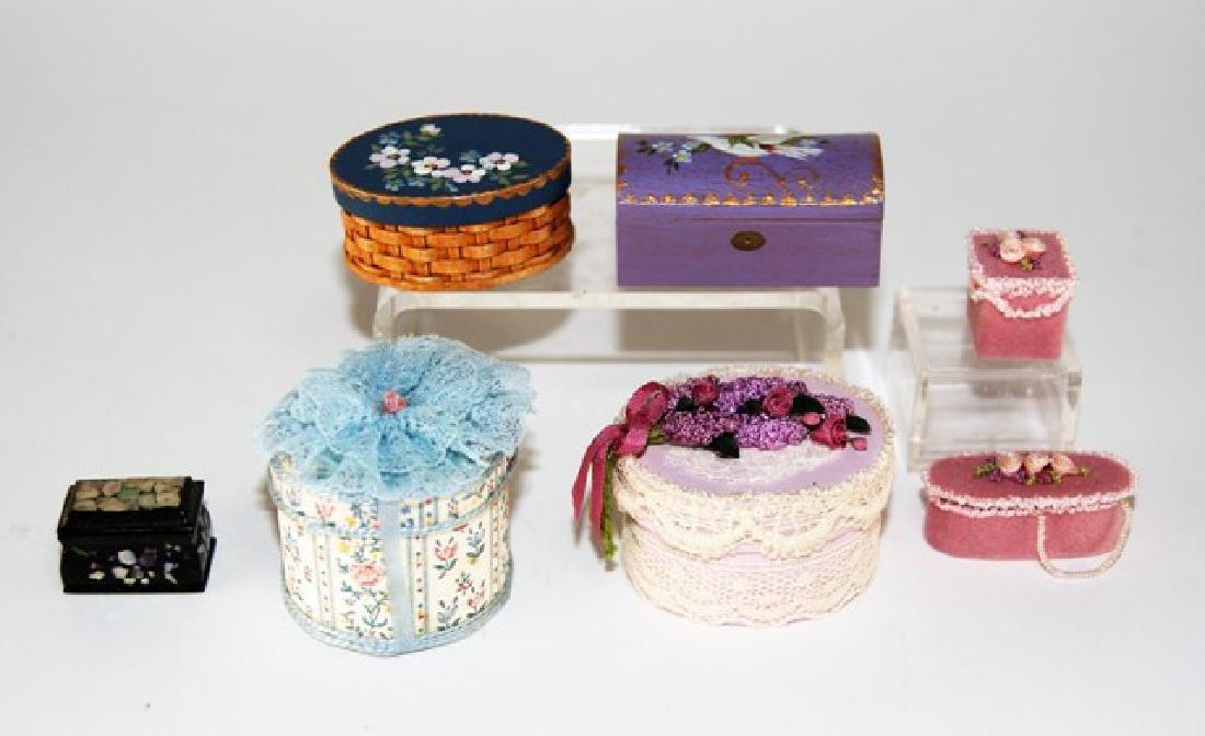 Last & Chandronnait Artisan Dollhouse Boxes Miniatures