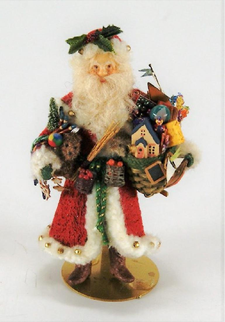 Linda Steir Artisan Santa Claus Dollhouse Doll