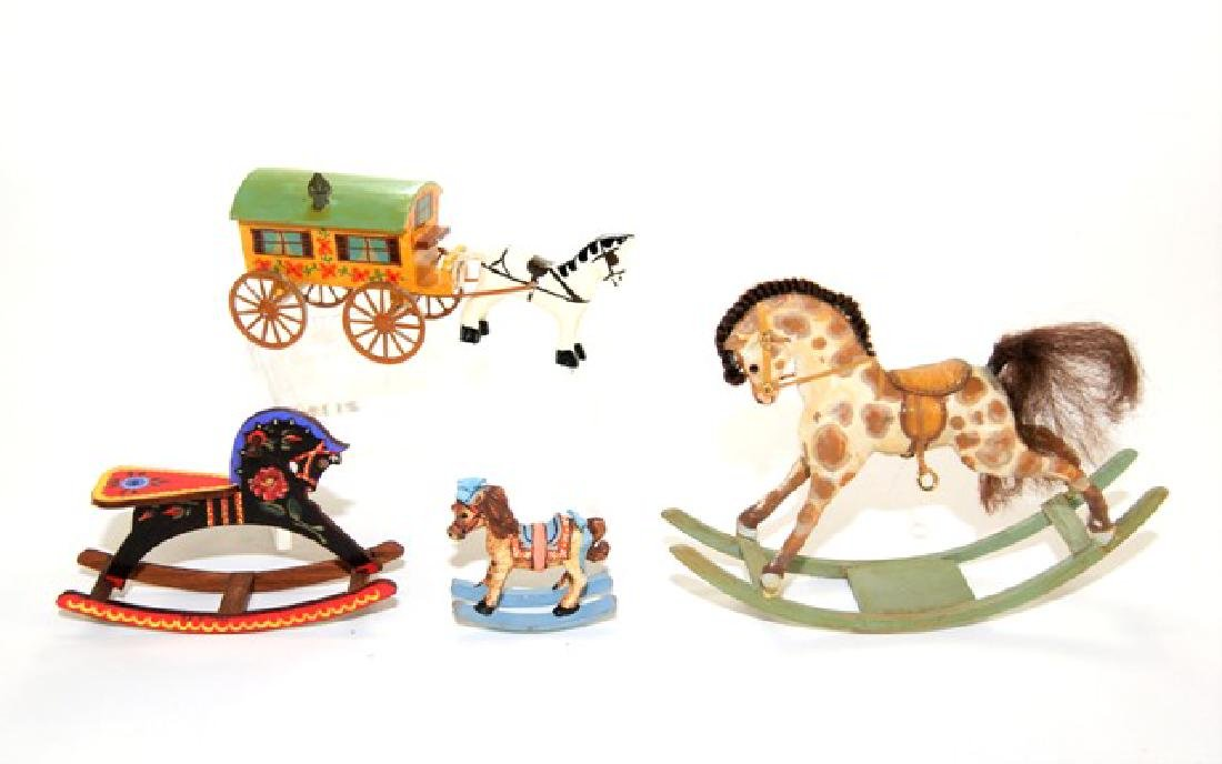 Amanda Skinner Rocking Horse & Others Dollhouse