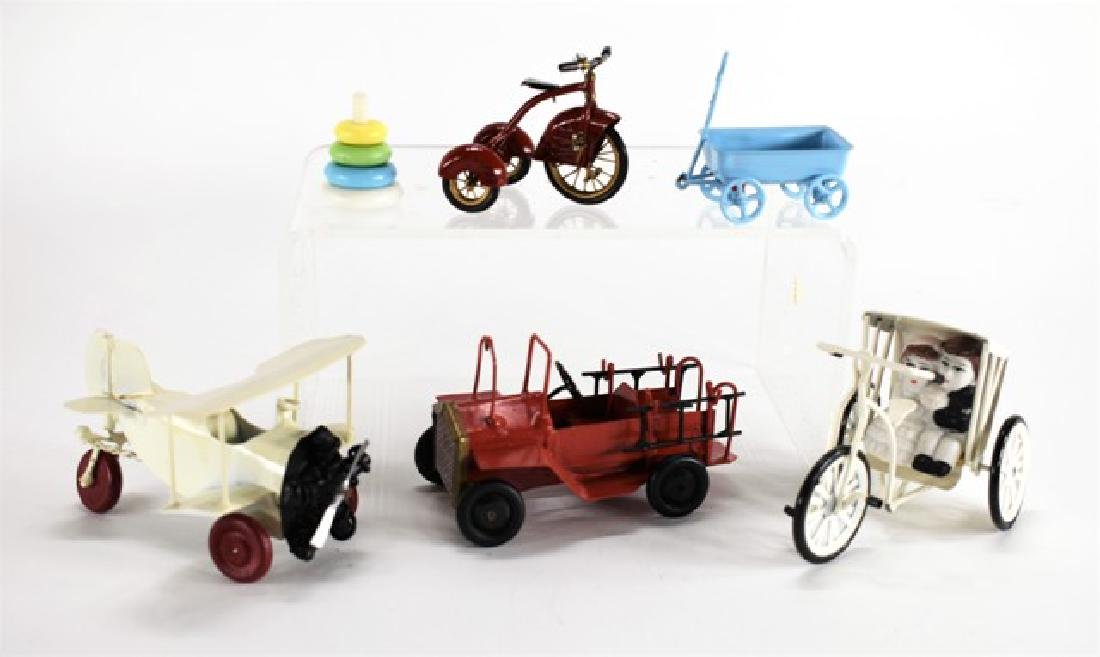 Cliff Feltrope Trike & Other Toys for Dollhouse