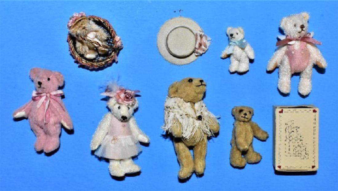 Dollhouse Miniature Artisan Bears