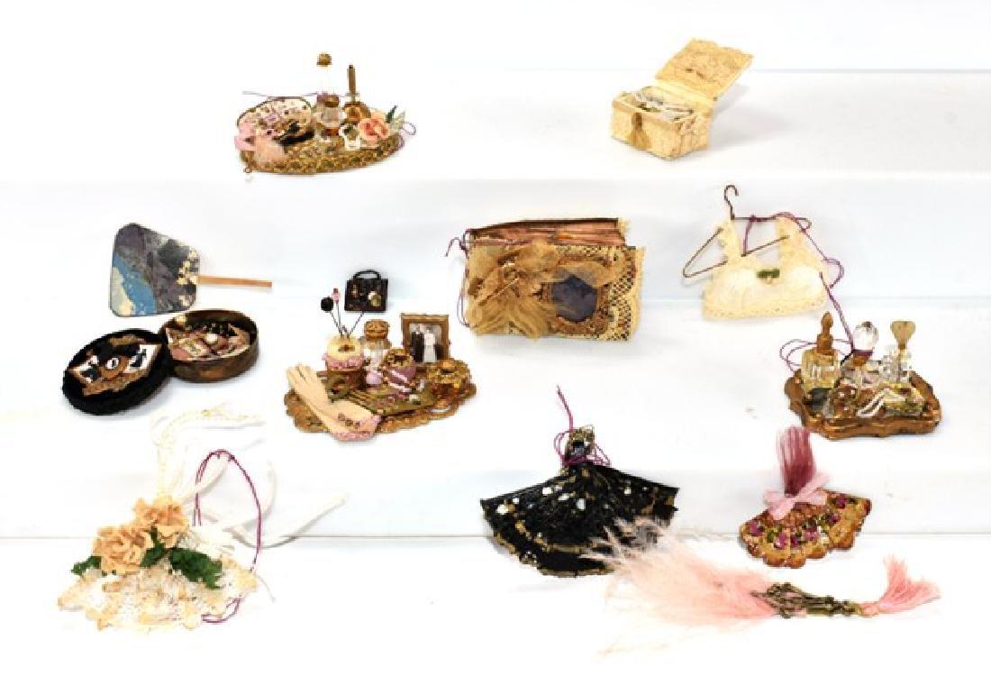 Susan Harmon Dollhouse Vanity Sets, Albums, Fans for