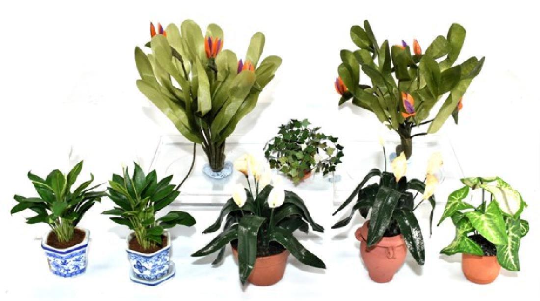Dollhouse Plants & Bushes Miniatures