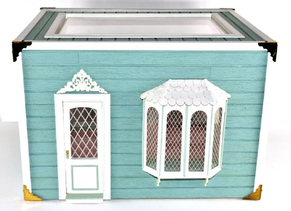 Bay Window Room Box Dollhouse