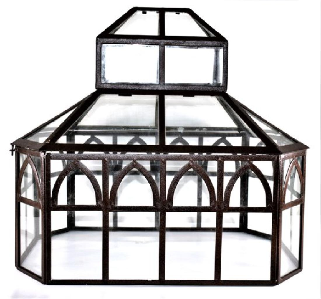 Glass Three Tier Greenhouse Dollhouse