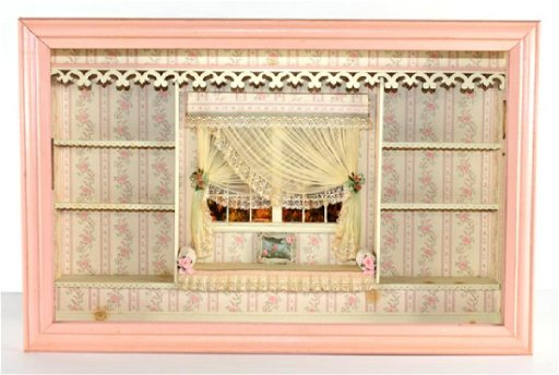Fantastic Shallow Window Seat Room Box Dollhouse Pdpeps Interior Chair Design Pdpepsorg