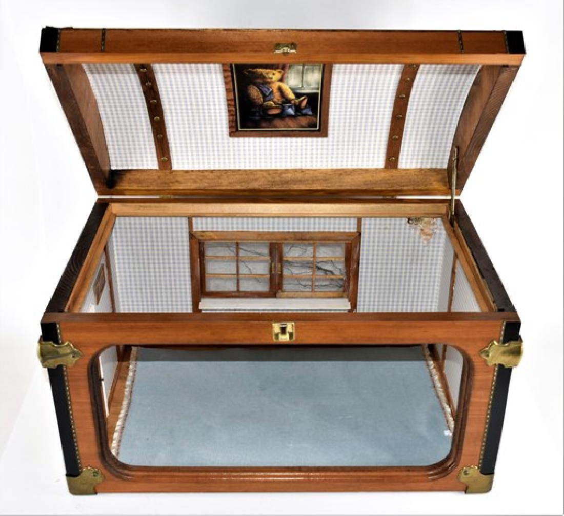 Doll Trunk Room Box Dollhouse