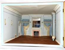 Georgian Bedroom Room Box Dollhouse