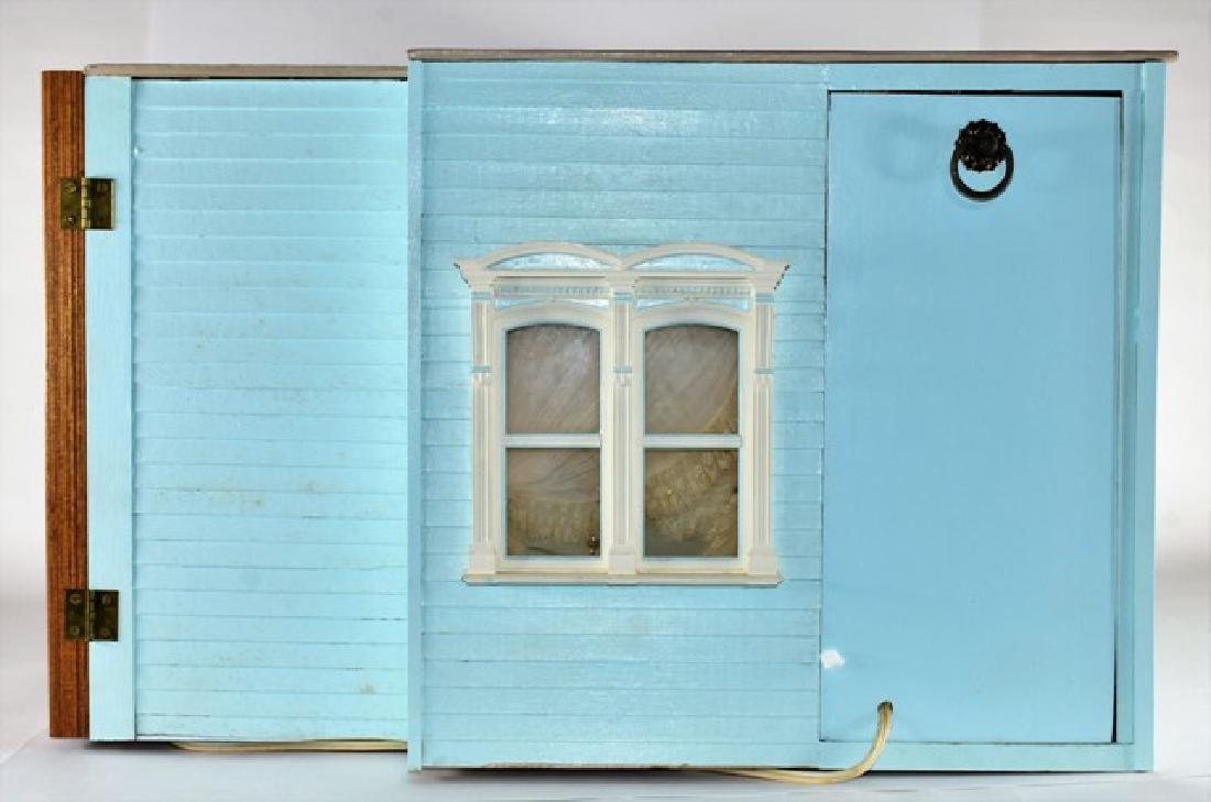 Georgian Bedroom Room Box Dollhouse - 7