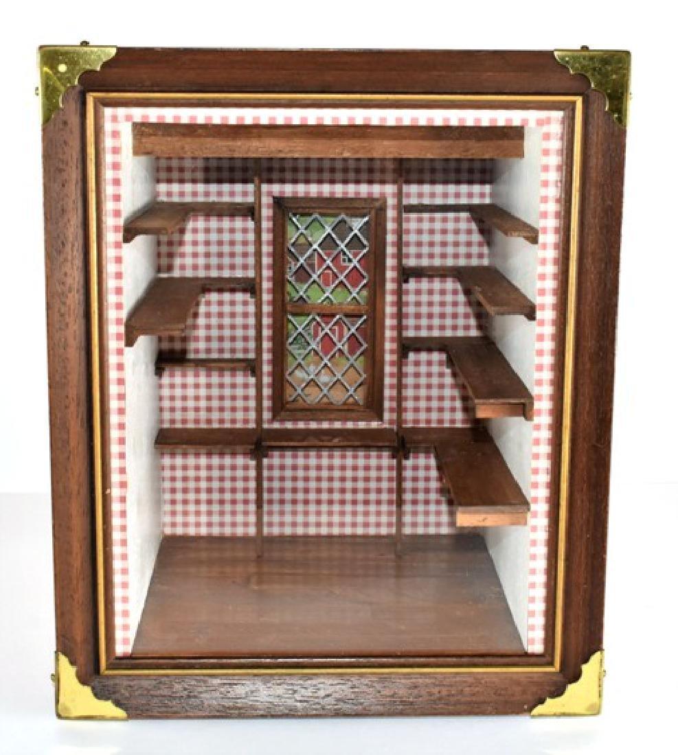 Small Pantry Room Box Dollhouse